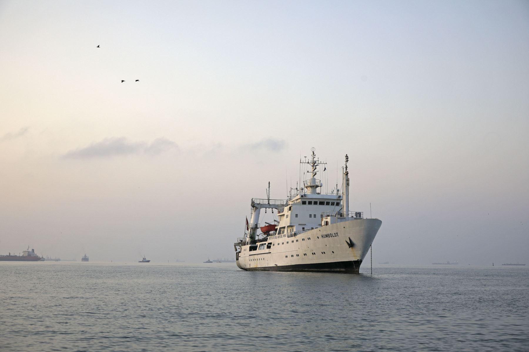 Barco de Investigación Científica Humboldt. Foto: Cortesía.