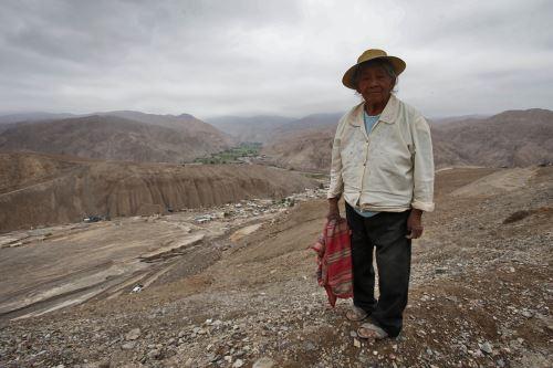 Los damnificados por huaico en Mirave, Tacna, fueron reubicados provisionalmente en la zona de Alto Mirave. Foto: ANDINA/Archivo/Nathalie Sayago