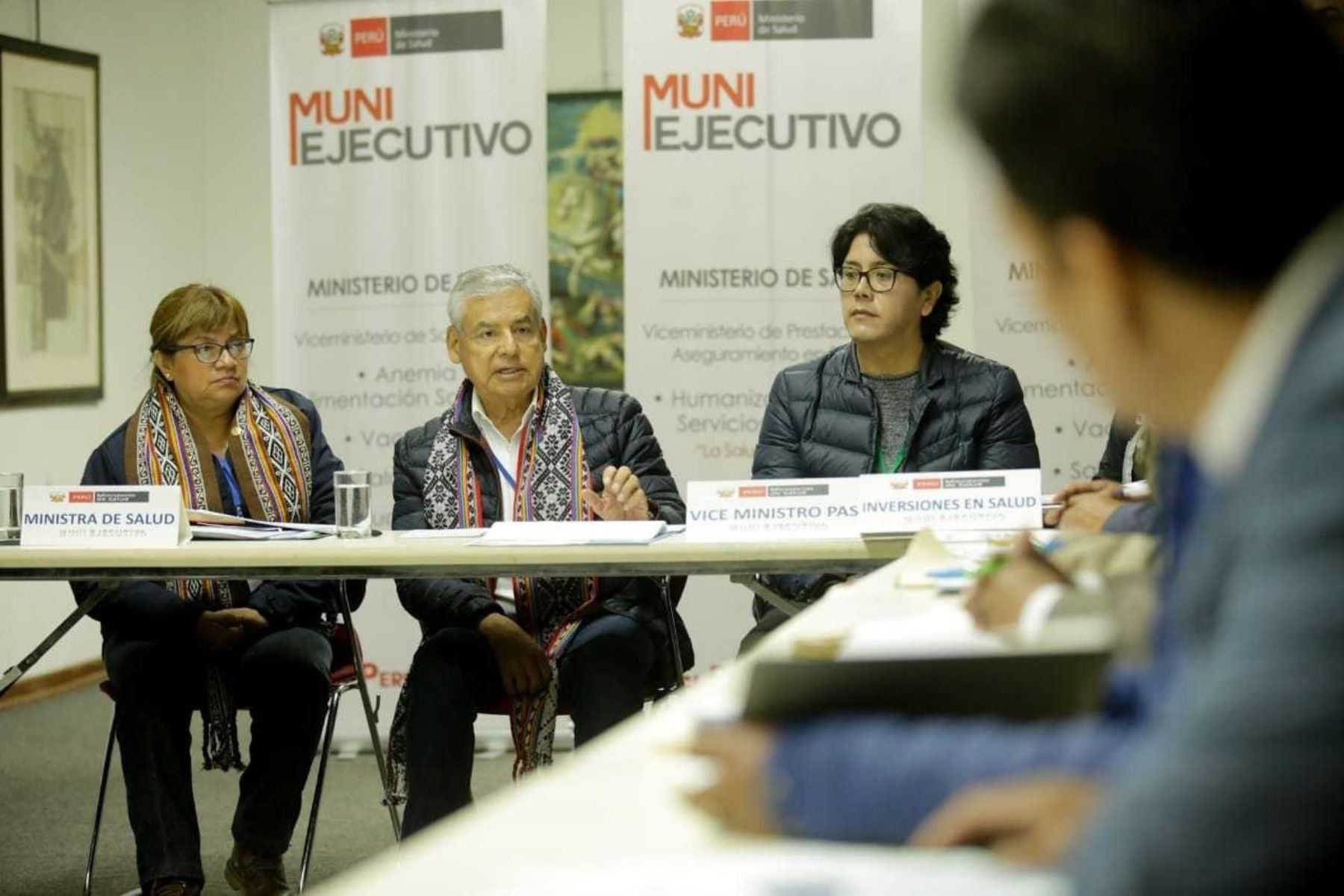 Presidente del Consejo de Ministros, César Villanueva, participa en el Muni Ejecutivo realizado en el Cusco.