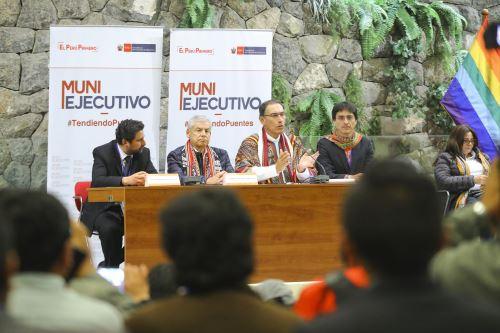 Presidente Vizcarra liderò el Muni Ejecutivo en la región Cusco