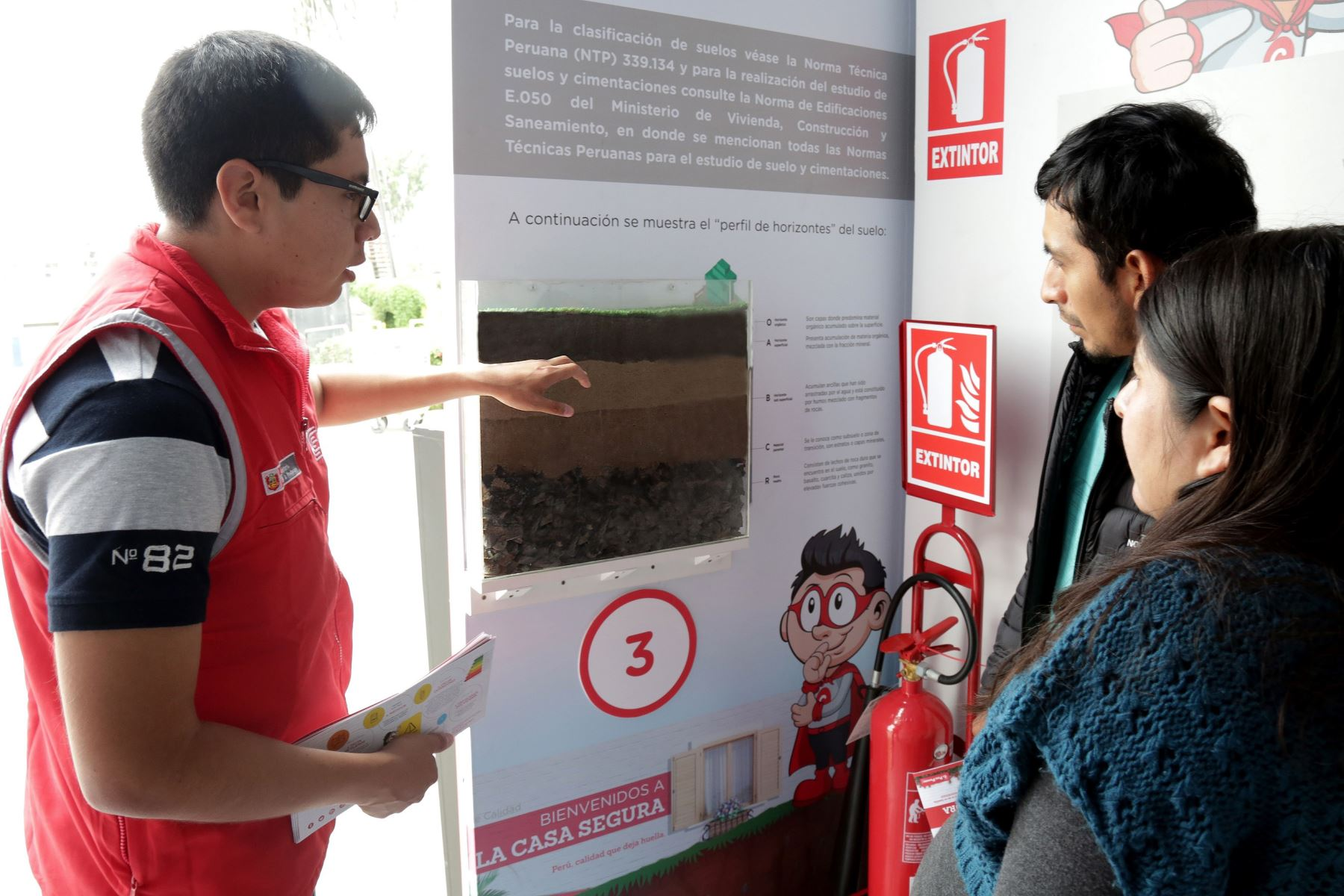 En Inacal se puede obtener información para conocer la calidad del suelo donde se construir una casa. foto: Andina/difusión