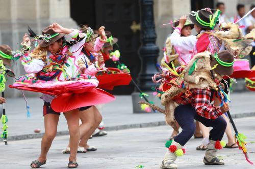 Lanzamiento de Carnaval de Apurímac se realizó en Palacio de Gobierno