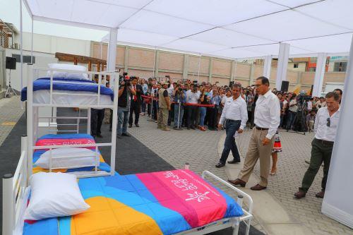 Presidente Vizcarra participa en el lanzamiento del Núcleo Ejecutor de Compras (NEC), en Villa El Salvador