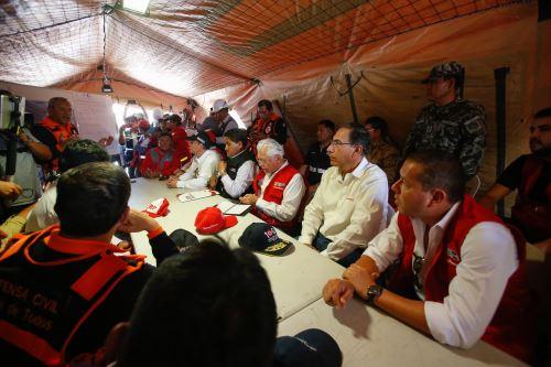 Tacna: Presidente Martín Vizcarra visita Alto Mirave