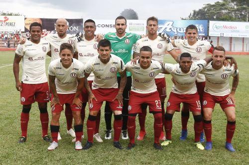 Liga 1: Universitario rescata un punto ante Unión Comercio en Moyobamba