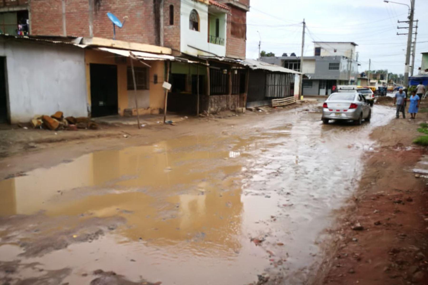 Lluvias intensas en diversos distritos de Piura dejan 6 viviendas destruidas y 182 afectadas, informó el Indeci. ANDINA/Archivo
