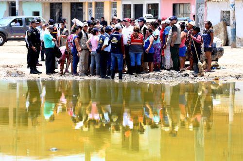 Ministro de Educación inspecciona colegio en Chiclayo