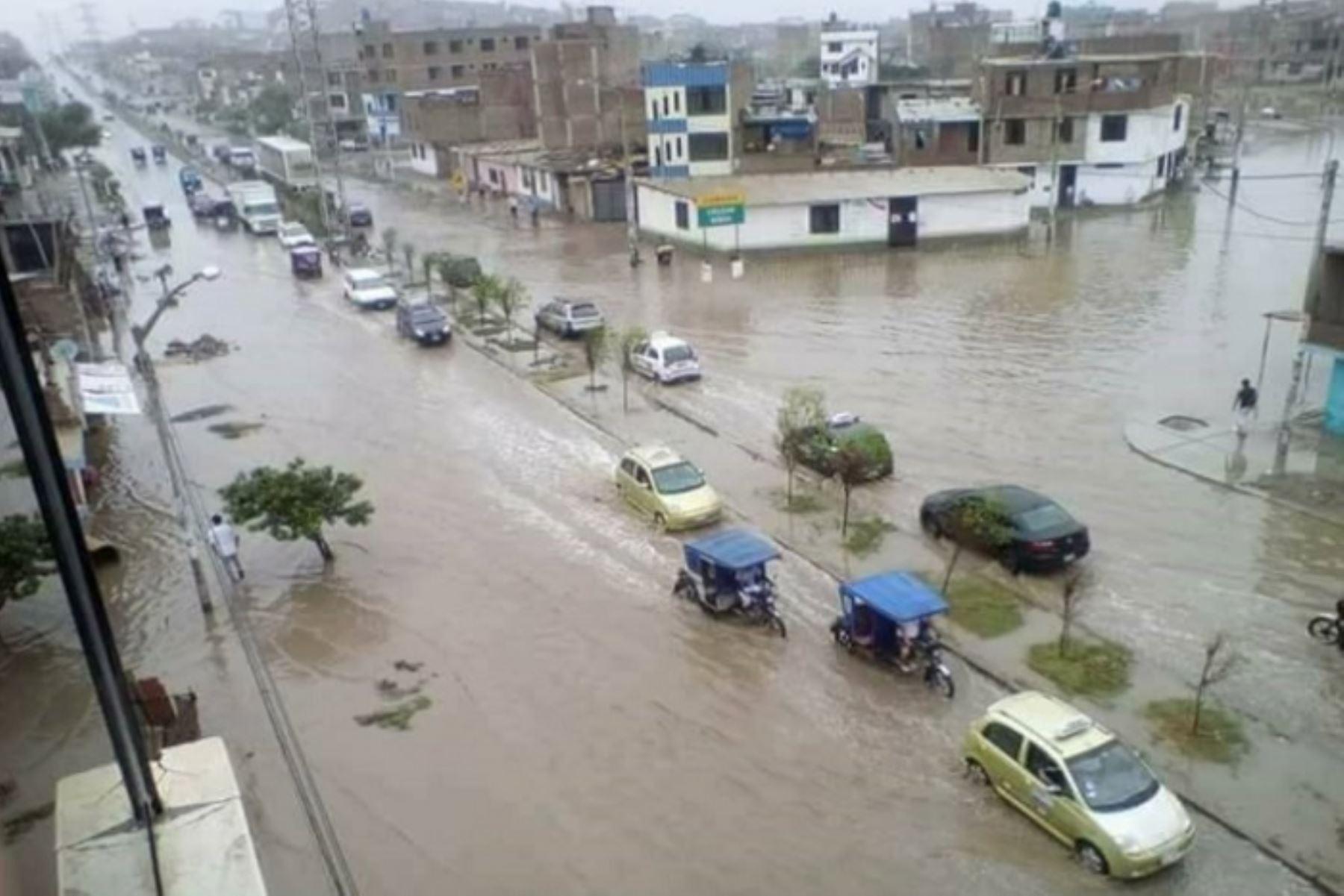 El Senamhi prevé acumulados máximos de lluvia superiores a los 20 milímetros por día a lo largo de la Sierra norte, centro y sur.
