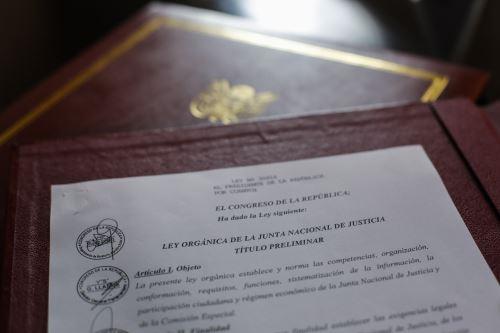 Presidente Martín Vizcarra promulga Ley Orgánica de la Junta Nacional de Justicia