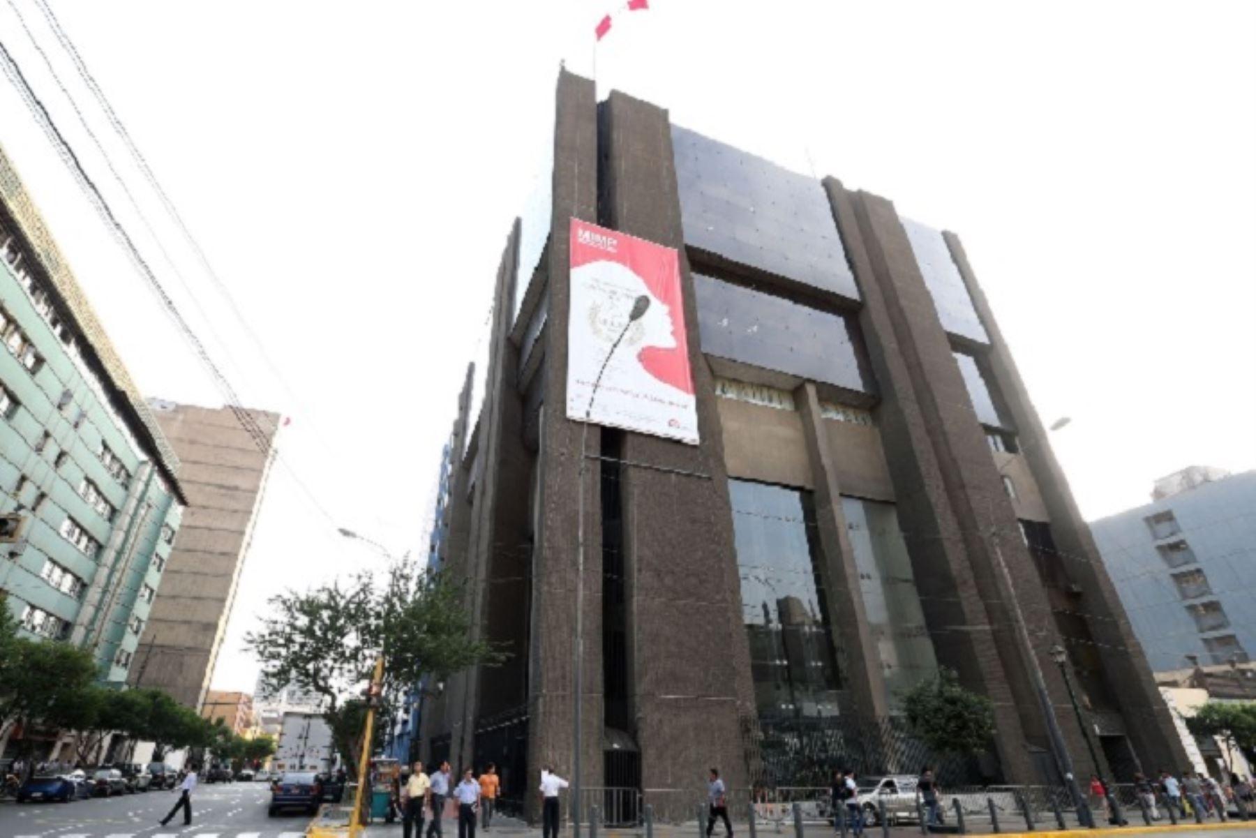 Sede central del Ministerio de la Mujer y Poblaciones Vulnerables (MIMP). ANDINA/Difusión