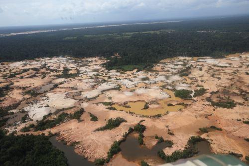 FF. AA. realizaron Operación Mercurio 2019, contra la minería ilegal en Madre de Dios