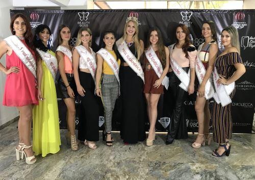 Representantes de Miss Sudamérica 2019 disputarán título este viernes en Lima.