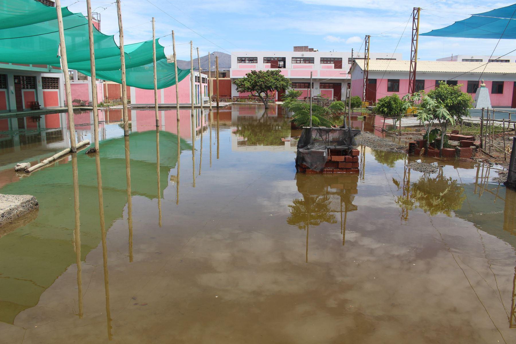 Emergencias han afectado infraestructura de 10 colegios en región Áncash, reportó el COER local. ANDINA/Difusión