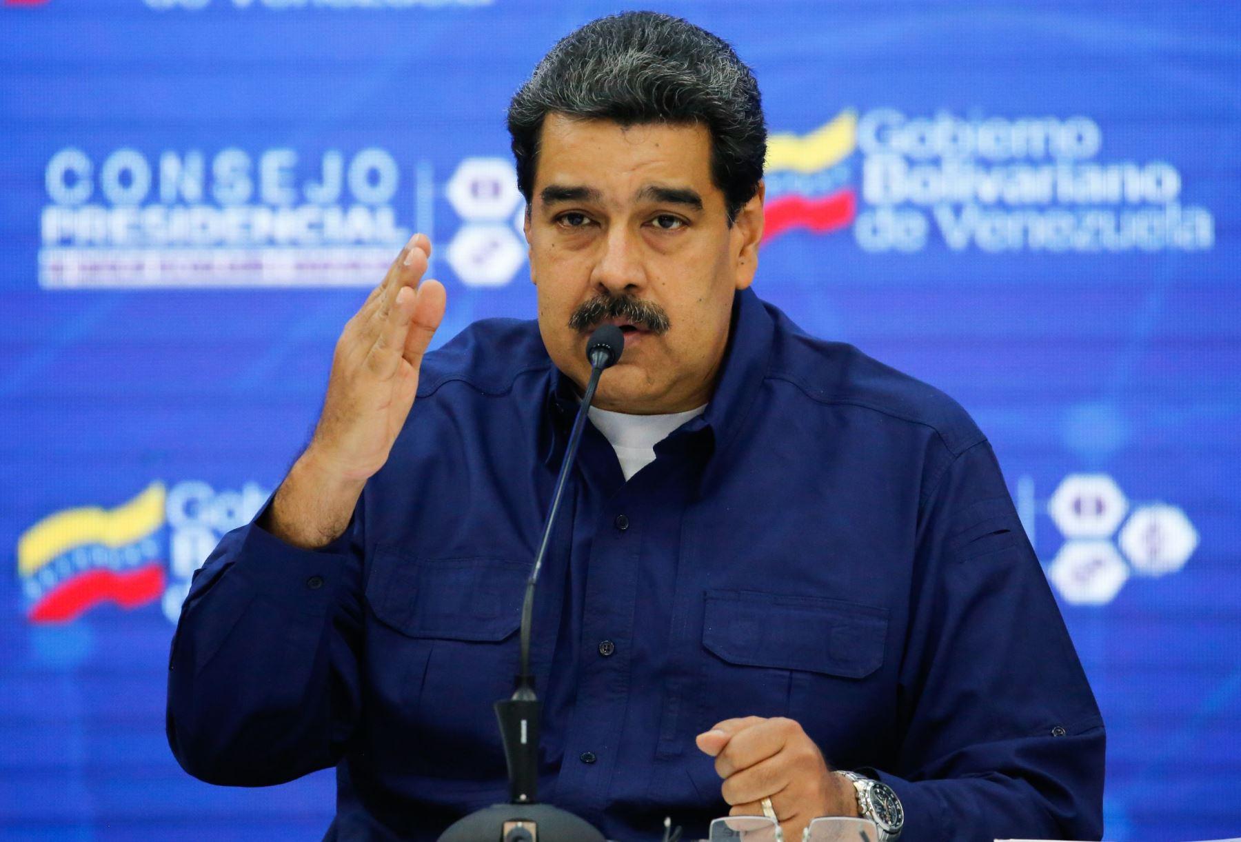 Presidente de Venezuela Nicolás Maduro. Foto: AFP