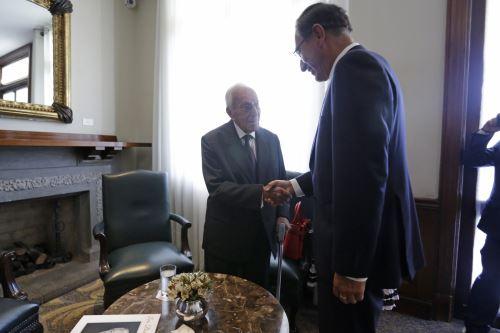 Presidente Vizcarra,destacó el legado  del  líder histórico del PPC Luis Bedoya Reyes, quien cumple hoy 100 años