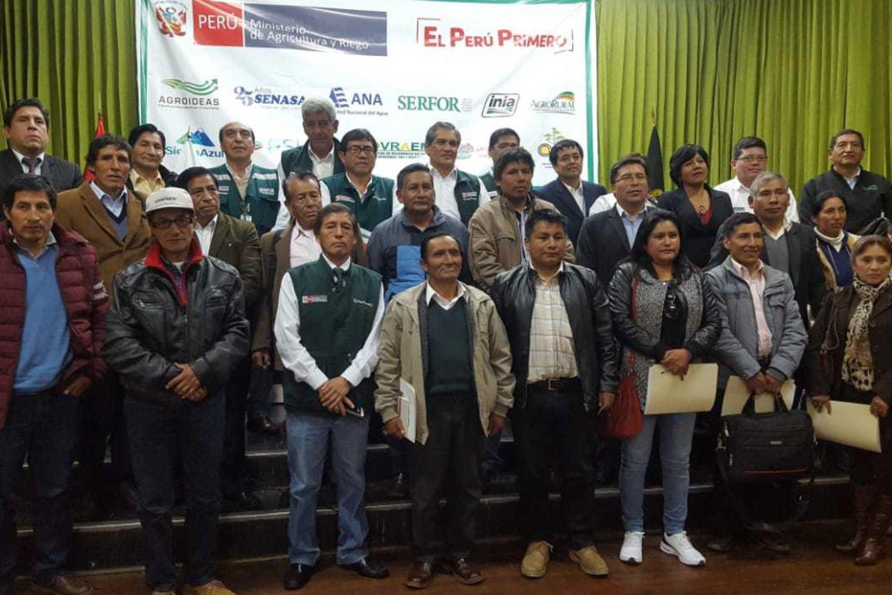 Agro Rural y alcaldes de Junín articulan estrategias para fortalecer capacidades