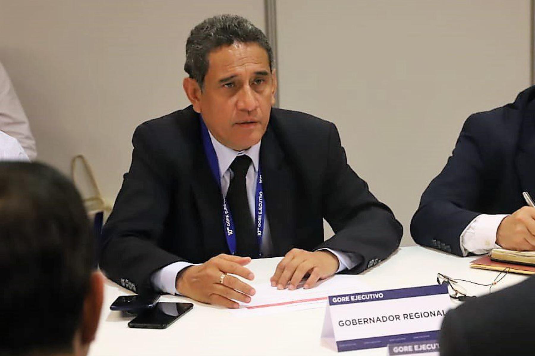Gobernador de Cajamarca, Mesías Guevara, solicita que prime el diálogo en proyecto Tía María. ANDINA/Difusión