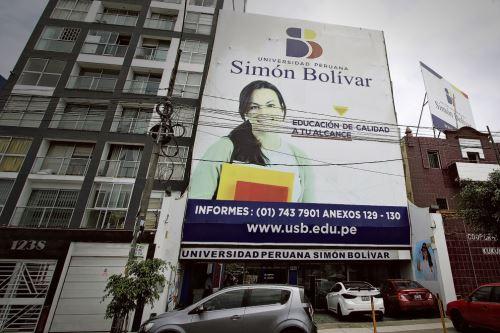 Simón Bolívar está ubicada en la Av. Brasil. Foto: Sunedu