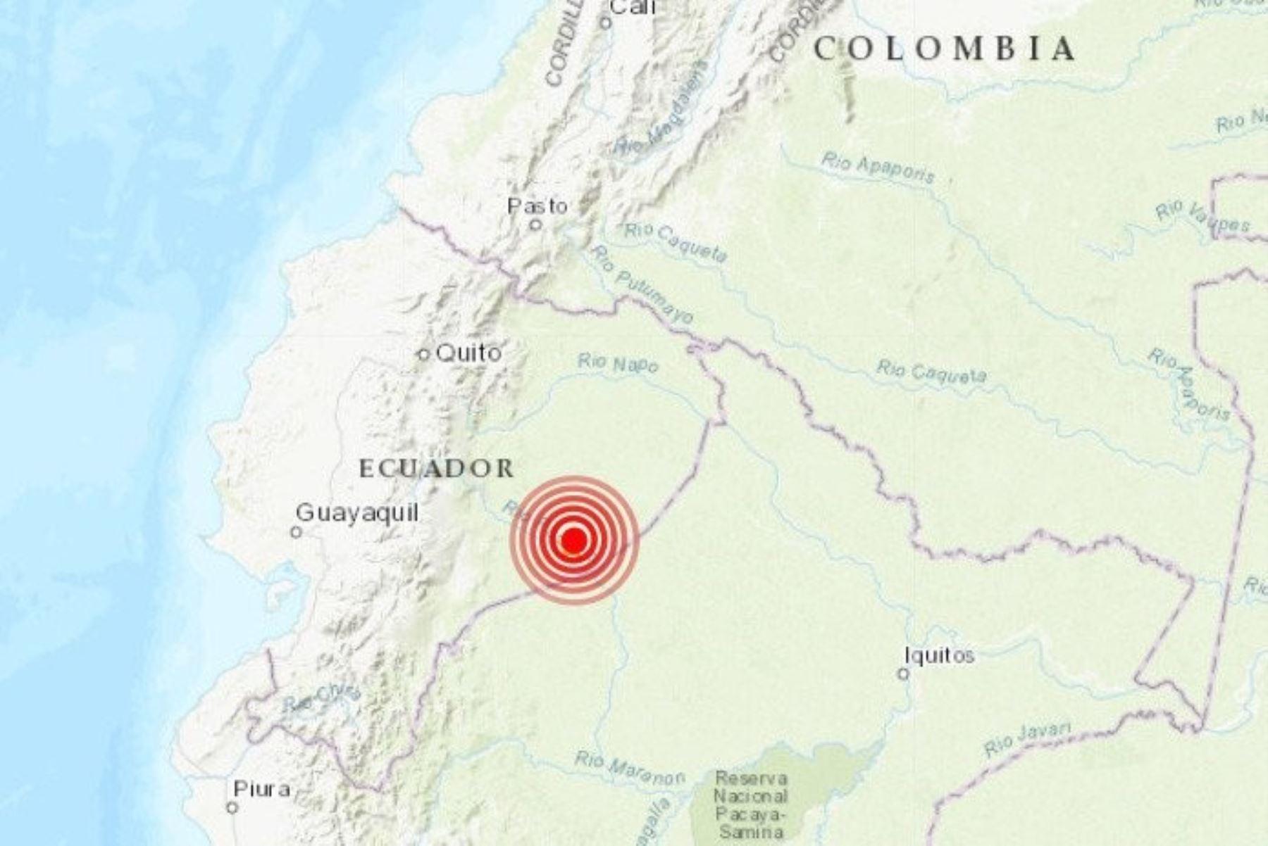 Sismo en Ecuador sólo produjo algunos heridos.El Instituto Geofísico de Ecuador estima su profundidad en 137,56 kilómetros. Foto:  @ActualidadRT/Twitter