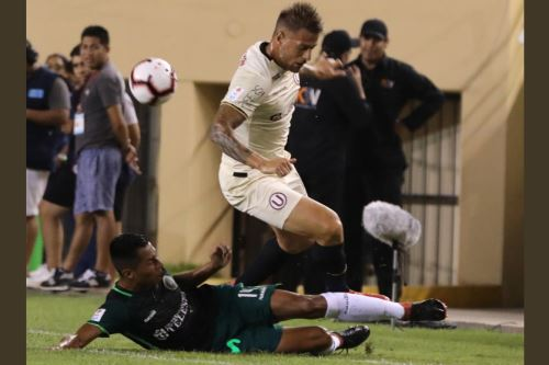 Universitario se impuso 3-1 a Pirata FC, en emotivo encuentro en estadio Monumental de Ate