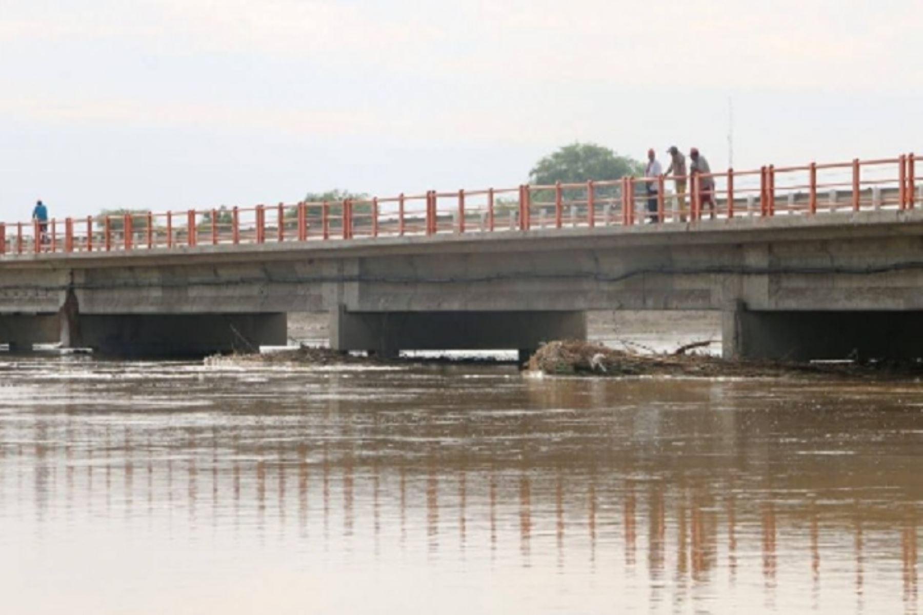 Senamhi: río Piura registra descenso de caudal y disminuye posibilidad de desborde. ANDINA/Difusión