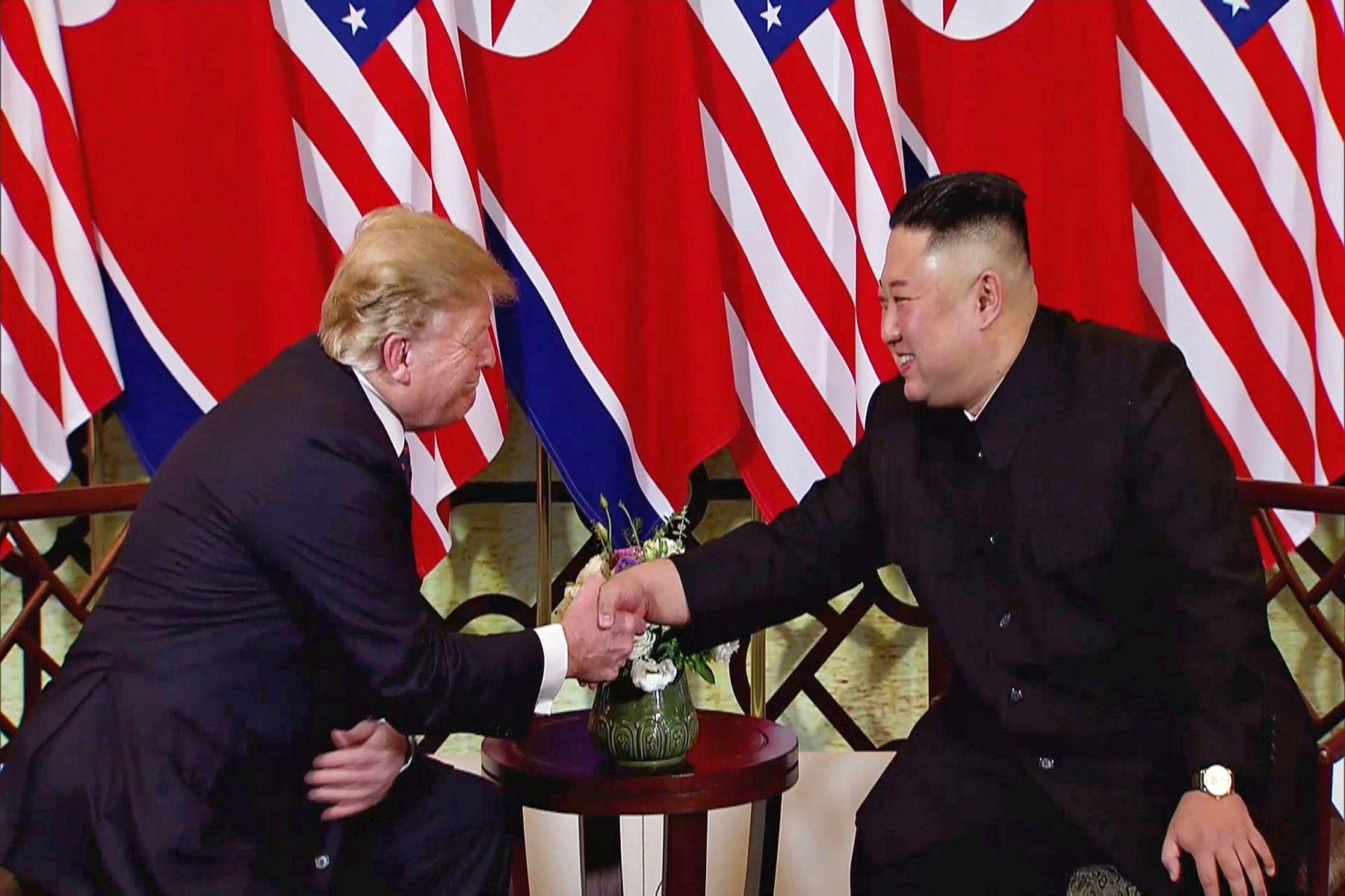 Trump y Kim optimistas en el comienzo de la cumbre en Hanói