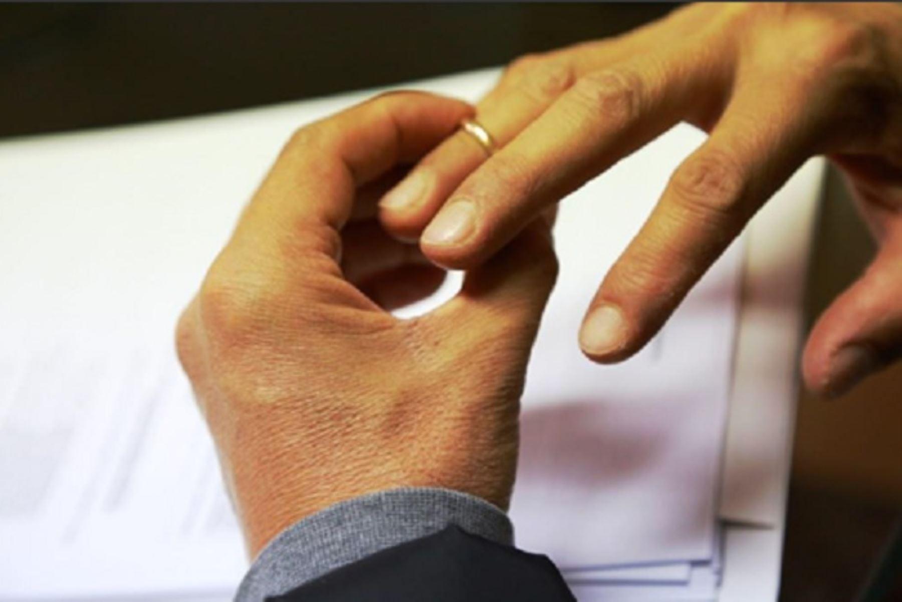 Las inscripciones de divorcios ante la Superintendencia Nacional de los Registros Públicos (Sunarp) a nivel nacional, aumentó en ocho regiones: Amazonas, Arequipa, Ayacucho, Cusco, Lima, Loreto, Piura y Ucayali.