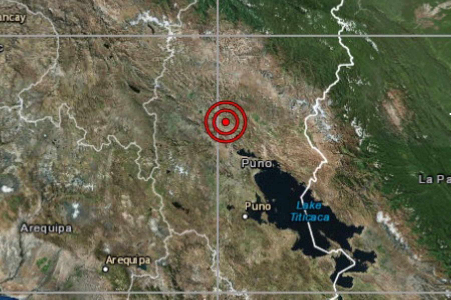 Sismo de hoy tuvo 7 de magnitud. Foto: IGP