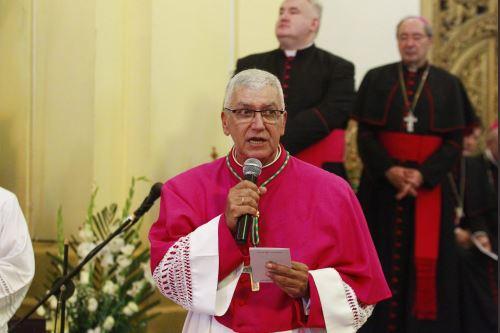 Arzobispo de Lima, Carlos Castillo. Foto: ANDINA/Eddy Ramos