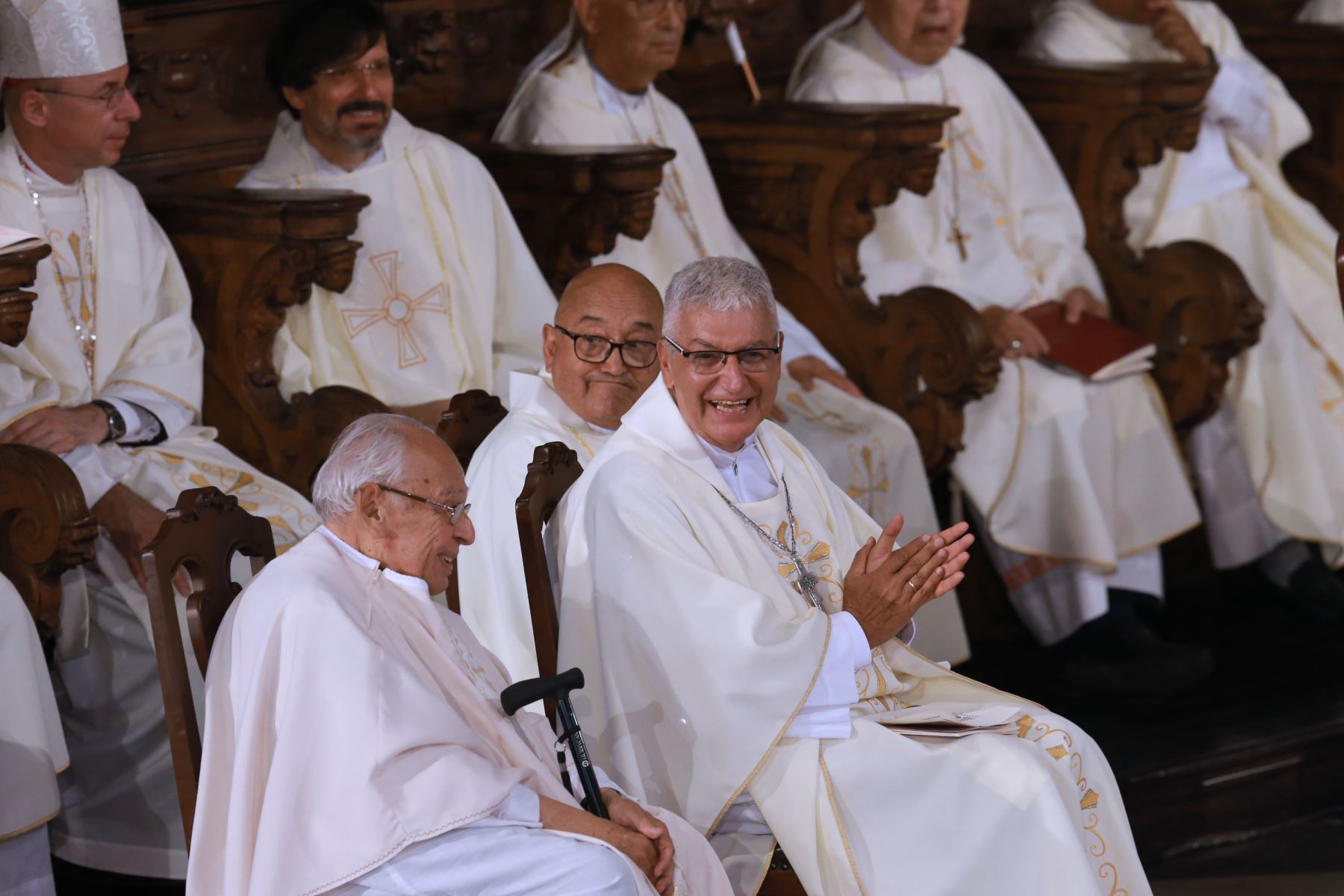 Ordenación Episcopal y Toma de Posesión de Monseñor Carlos Castillo Mattasoglio como Arzobispo de Lima Foto: ANDINA/Norman Córdova