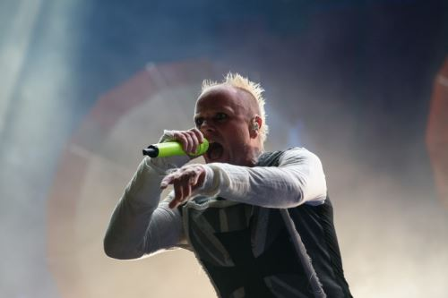 04/03/2019   Keith Flint cantante del grupo The Prodigy. Foto: AFP