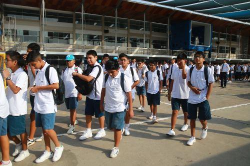 Cuestionado proyecto busca retiro de alumnos de colegios privados por deudas. Foto: ANDINA/Vidal Tarqui