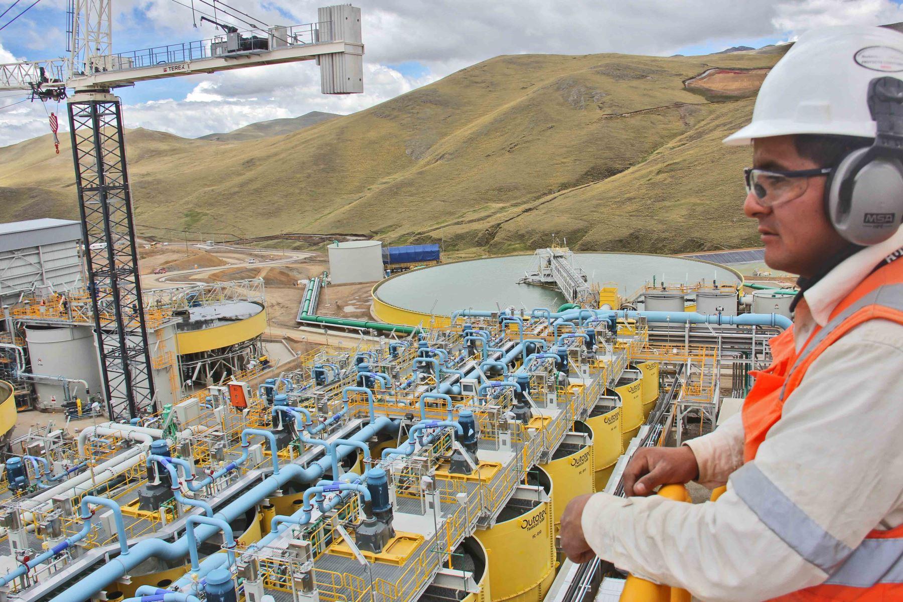 Inversión minera. Foto: ANDINA/Difusión