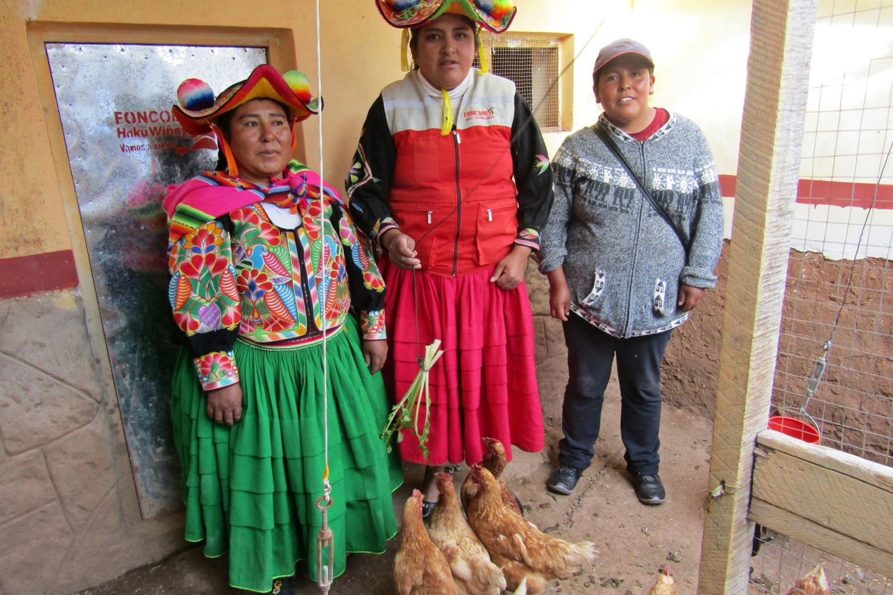 Mujeres de zonas rurales gestionan inversiones por S/ 200 millones. ANDINA/Difusión