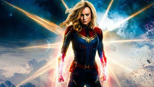 """""""Capitana Marvel"""" se estrena hoy en el Perú."""