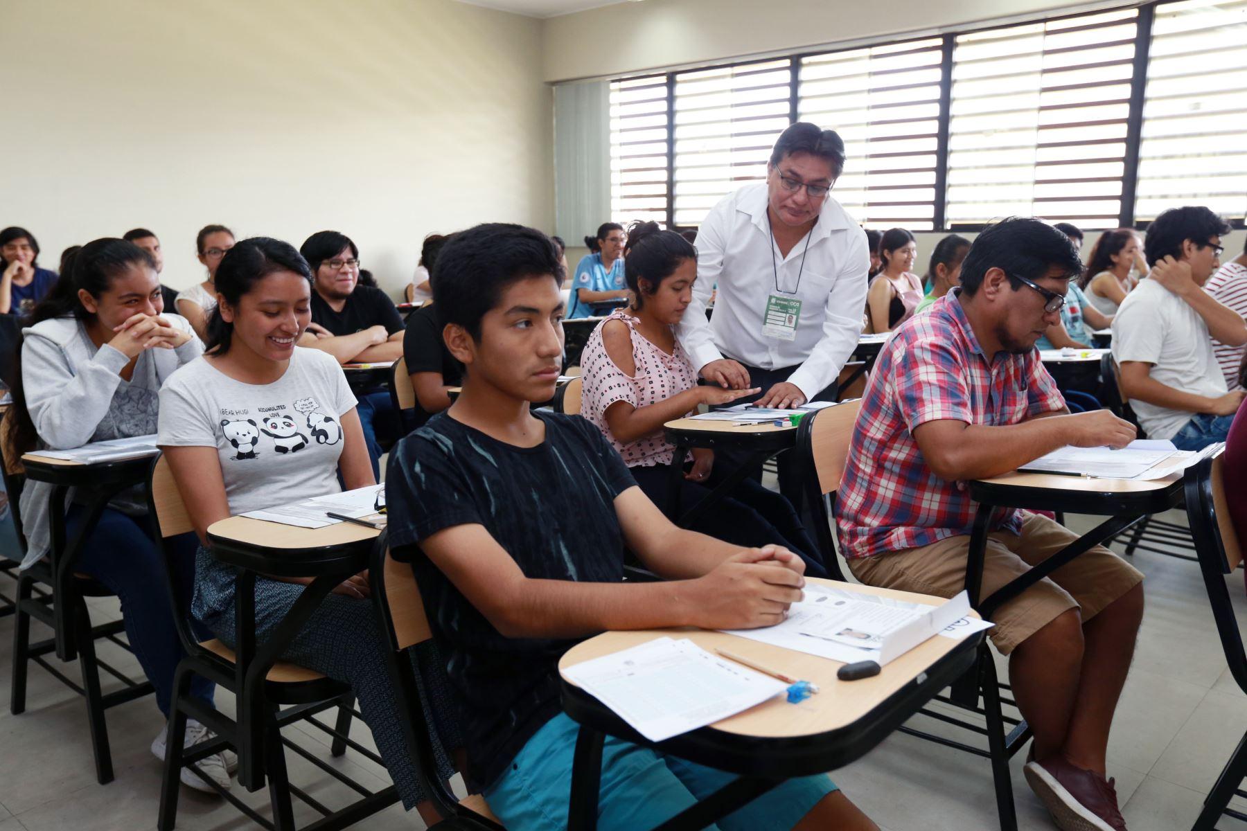 El Plan de Emergencia es aprobado por resolución del titular del Minedu. Foto: ANDINA/Norman Córdova