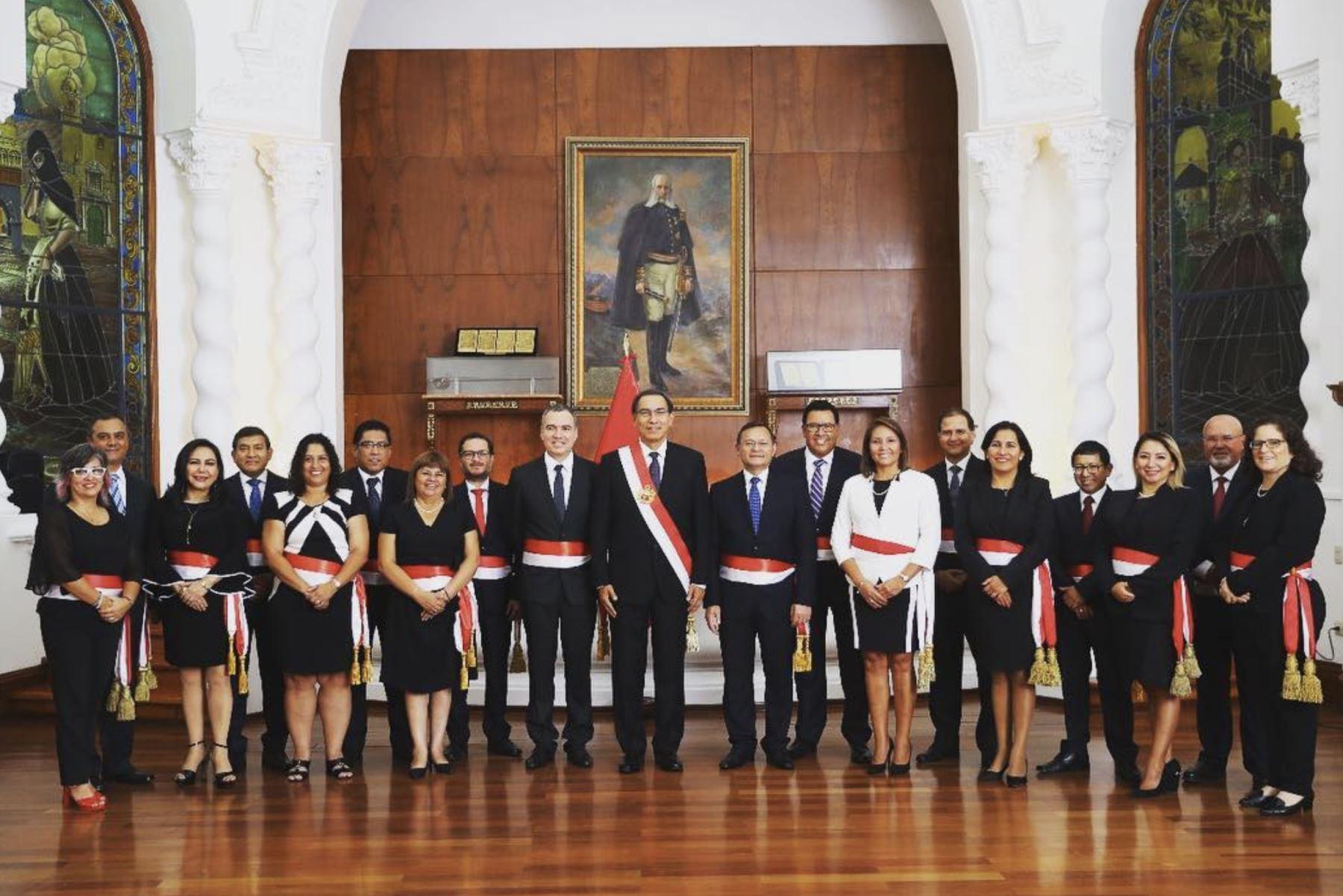 Salvador del Solar juró como presidente del Consejo de Ministros