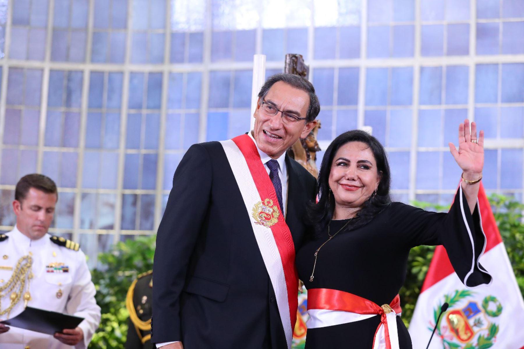 Gloria Montenegro juramenta como ministra de La Mujer. Foto: ANDINA/Prensa Presidencia