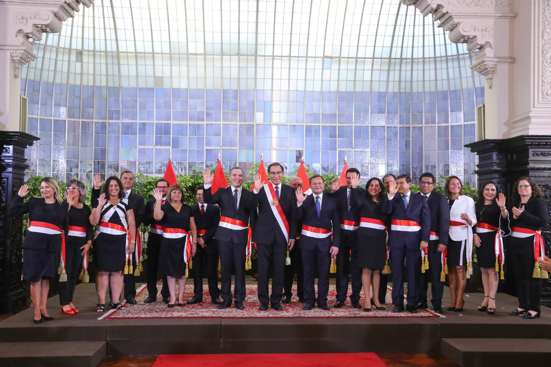 Este es el nuevo gabinete ministerial de Salvador del Solar. Foto: ANDINA/Prensa Presidencia