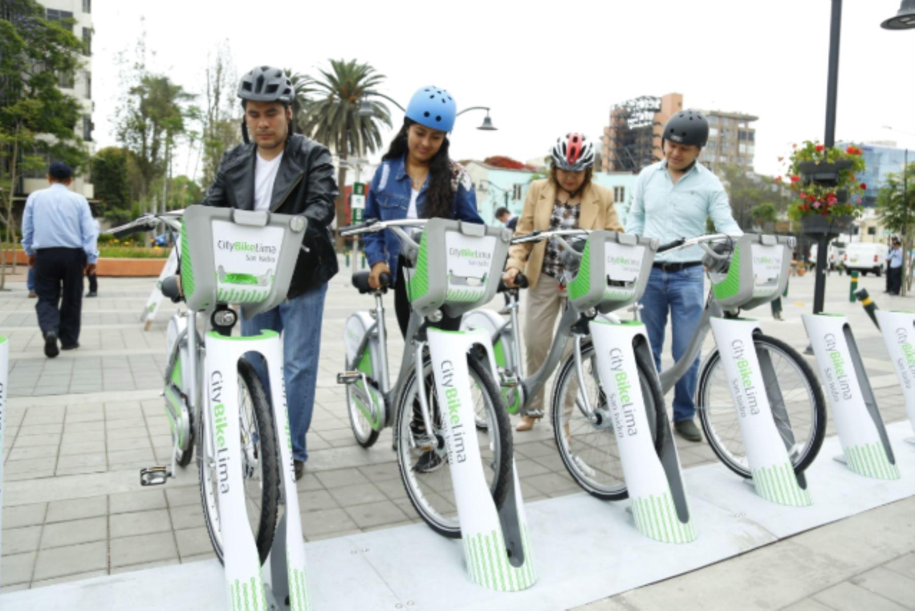 Conoce las mejoras que tendrán San Isidro y Miraflores con servicio público de bicicletas. Foto: ANDINA/Difusión.