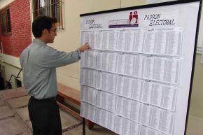 Electores. Foto: ANDINA/Difusión