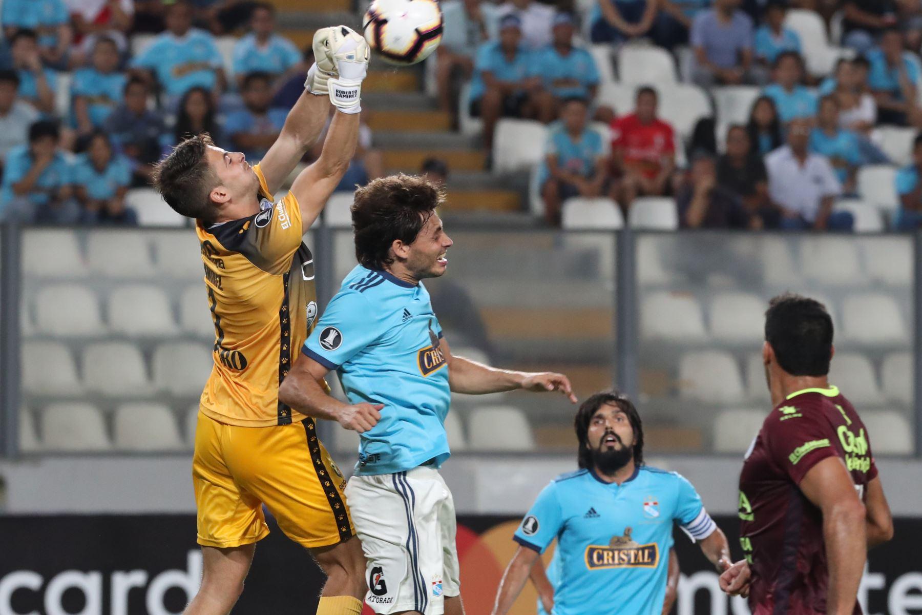 Sporting Cristal empata 1-1 con Godoy Cruz. Foto: ANDINA/Melina Mejía