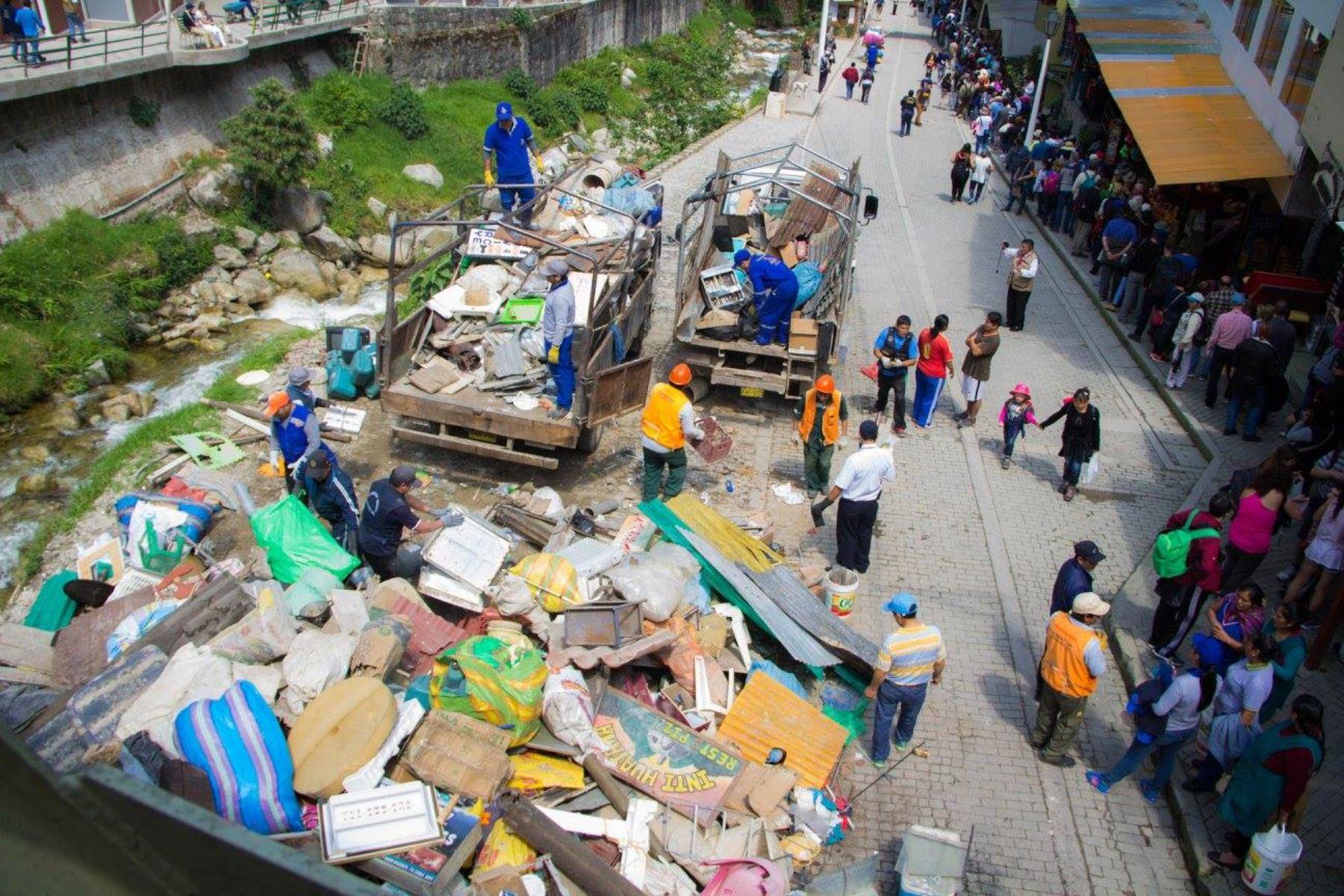 Distrito de Machu Picchu Pueblo convertirá basura orgánica en abono para la agricultura. ANDINA/Difusión