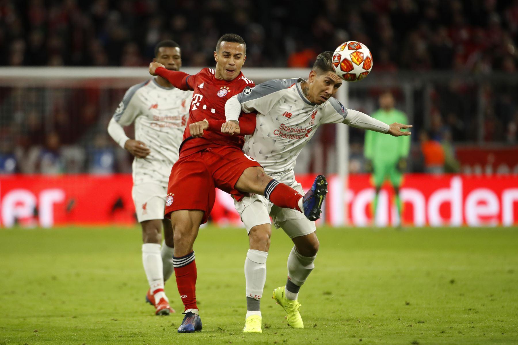Bayern pierde 3 a 1 con el Liverpool por la Champions League. Foto: AFP