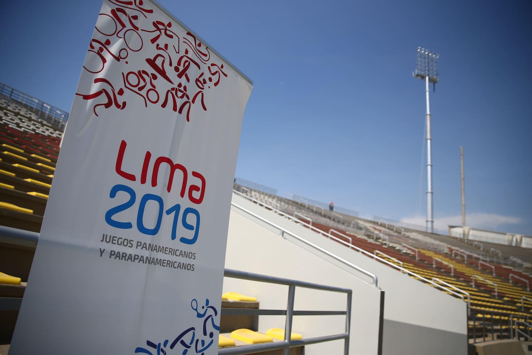 Lima 2019 entrega el remodelado Estadio de San Marcos a la Federación Peruana de Fútbol. Foto: ANDINA/ Luis Iparraguirre