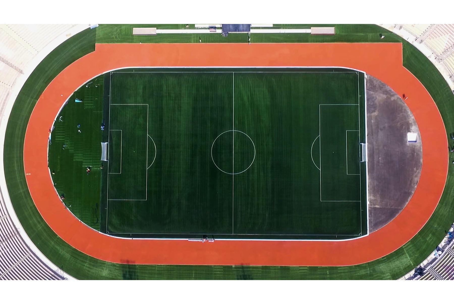 Lima 2019 entrega el remodelado Estadio de San Marcos a la Federación Peruana de Fútbol. Foto: ANDINA/ Panamericanos Lima 2019