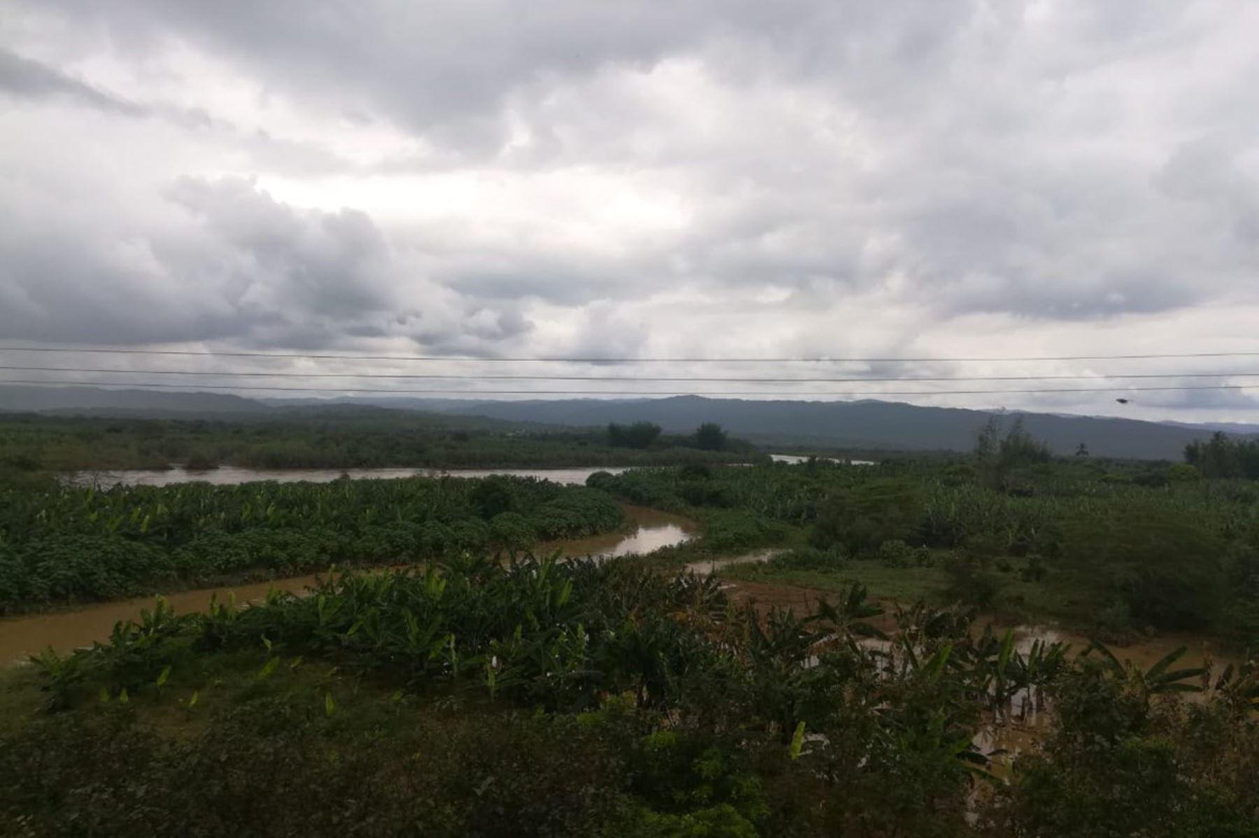 Lluvias de moderada a fuerte intensidad se registrarán en 37 provincias de la costa y sierra de los departamentos de Tumbes, Piura, Lambayeque, La Libertad y Cajamarca.