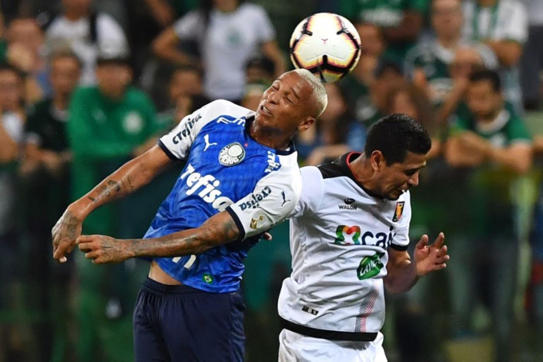 Melgar fue goleado 3-0 ante el Palmeiras
