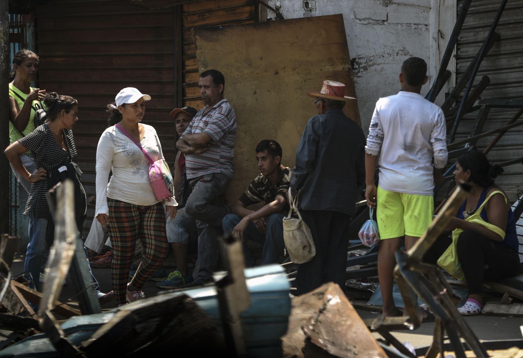 Más de 500 tiendas fueron saqueadas en Venezuela. Foto: AFP