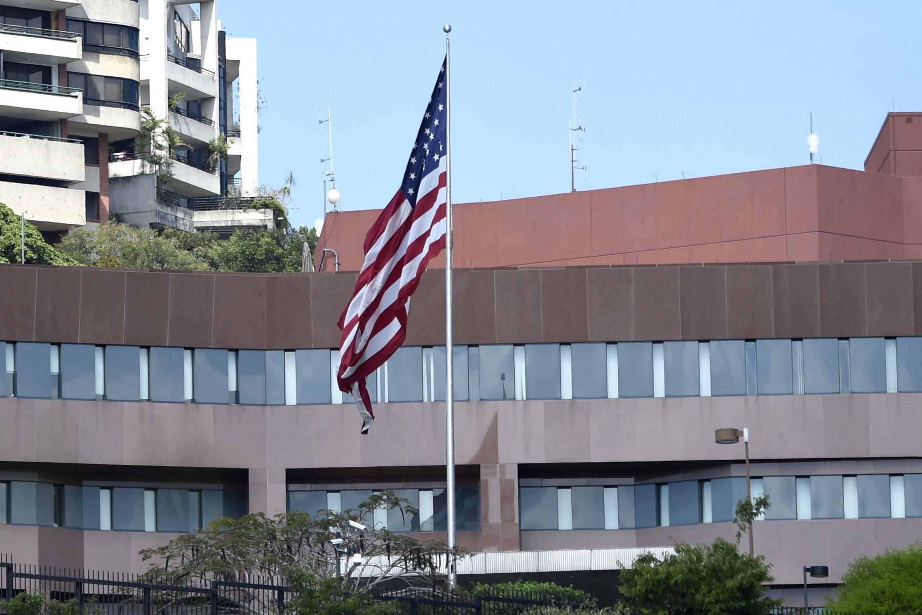 La embajada de los Estados Unidos de América en Caracas. Foto: AFP
